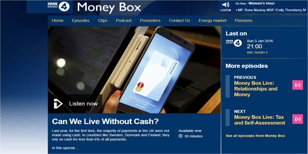 bbc-money-box-interview:-can-we-live-without-cash?