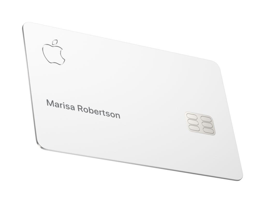Apple Card design Penser