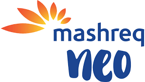 mashreq neo logo: penser digital banking innovation